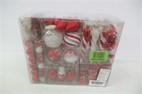 Valery Madelyn 155-Pack Traditional Red and White