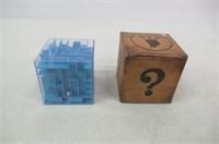 Maze To Open Piggy Bank - Blue