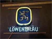 Lowenbrau neon New18 x 19 1981 model