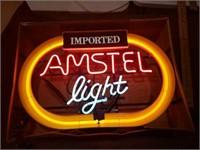 Vintage Amstel light  17 x 24 1990 mod