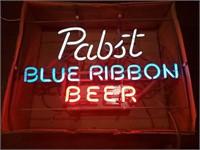 Vintage Pabst Blue Ribbon  22 x 13