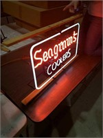 Vintage Segram's  16x26