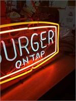 Vintage Burger on tap  28x16
