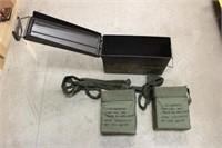 (2) Boxes 7.62 NATO on Disintegrating Link Belts,