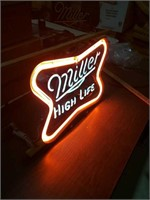Miller High Life. 2 stage