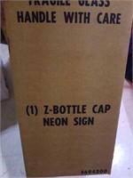 Z bottle Cap. Zima New in box unopened