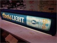 Coors pool table light 10x50