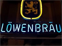 Lowenbrau New in box 1989 28x21