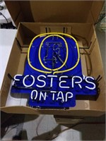 Fosters on Tap. New in box vintage fosters 27x24