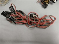 LOT OF CHRISTMAS LIGHT WIRING