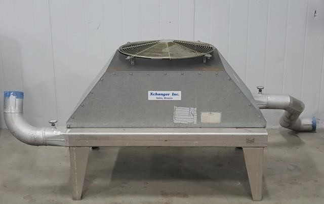 X-Changer Industrial Air Cooled Heat Exchanger | Meridian Public Auction