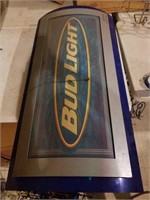 Big Bud light sign, did not come on