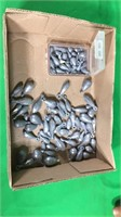 Box of Assorted Lead Sinkers