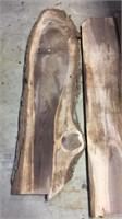 3- Black Walnut Boards- Rough Cut