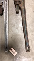2- Pipe Wrenches