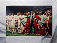 ULTRA RARE Daniel Moore Canvas Collection Alabama Football