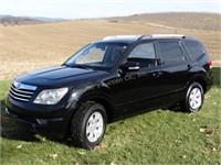Online-Only Kia Borrego LX Auction Estate Vehicle