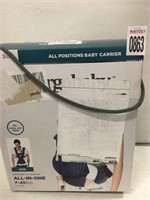 ERGO BABY BABY CARRIER ALL IN ONE 7-45LBS