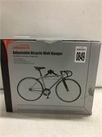 ADJUSTABLE BICYCLE WALL HANGER
