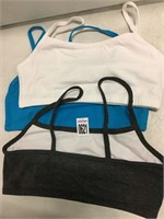 TOTAL OF 3 PCS OF SPORTS BRAS