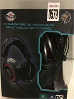 TBI GAMING PRO PROFFESIONAL QUALITY SOUND