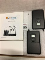 WIRELESS MICROPHONE SYSTEM FIFINE