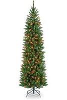 NATIONAL TREE 6.5' PRE-LIT CHRISTMAS TREE