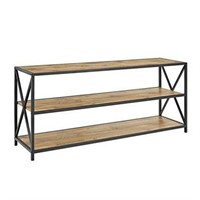 WALKER EDISON MEDIA BOOKSHELF (NOT ASSEMBLED)
