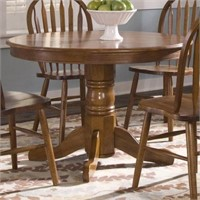 "42"" ROUND DINING TABLE( IN 2 BOXES )"