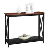 CONVENIENCE CONCEPTS CONSOLE TABLE (NOT ASSEMBLED)