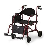 MEDLINE ROLLATOR/TRANSPORT CHAIR