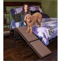 PET GEAR FREE STANDING EXTRA WIDE CARPETED PET