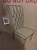 2 MORGANA PARSONS DINING CHAIR (NOT ASSEMBLED)