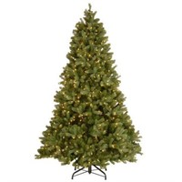 6' PRE-LIT TREE CLEAR (NOT ASSEMBLED)
