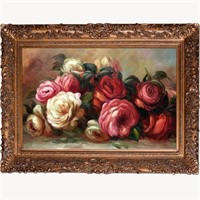 DISCARDED ROSES BY PIERRE-AUGUSTE