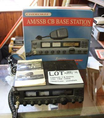 Cherokee CB Radio | Sohn & Associates Ltd