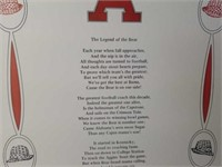 """Legend of the Bear"" Poem by John H. Mitchell Jr"