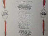 """Legend of the Bear"" Poem by John H. Mitchell Jr."