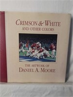 """Crimson & White & Other Colors"" Artwork of Moore"