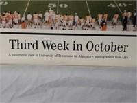 """""""Third Week in October"""" Panoramic View of AL vs TN"""