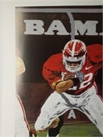 "SIGNED Rick Rush ""Mark of a Heisman"" Print Poster"