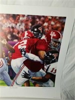 "Signed Daniel Moore ""The Last Pass"" A.P Print"