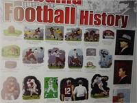 SIGNED Rick Rush 'Alabama Football History' Poster
