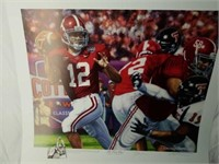 """Signed Daniel Moore """"The Last Pass"""" A.P. Print"""