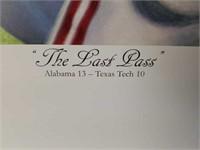 "Signed Daniel Moore ""The Last Pass"" Print"