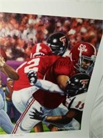 "Signed Daniel Moore ""The Last Pass"" Print"
