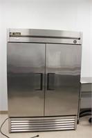 True double door freezer