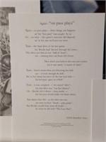 "Signed Daniel Moore ""The Last Pass"" Print #79/1214"