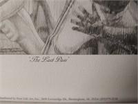 "Signed Daniel Moore ""The Last Pass"" Print #78/1214"