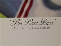 "Signed Daniel Moore ""The Last Pass"" S.E Print #81"